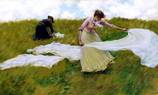 Charles Courtney Curran (American, 1861-1942)