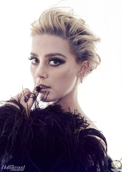 amber heard hollywood reporter, 12/2018