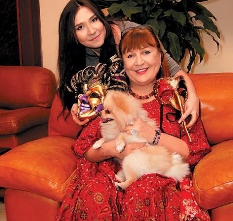 Татьяна Кравченко и ее дочка!