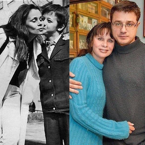 Любовь Полищук и ее сын!