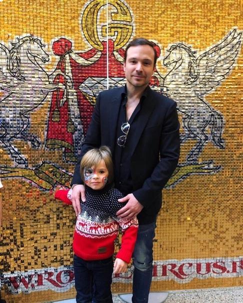 Алексей Чадов вышел в свет с сыном!