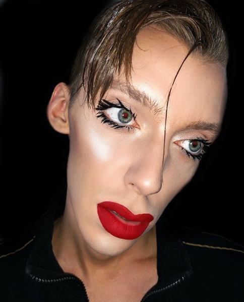 Новый макияж от Андрея Петрова.